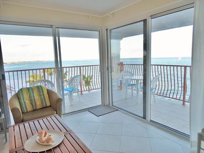 Photo for Ocean front Delaporte Condo with Amazing Views