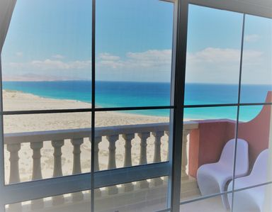 Photo for Super sea view apartment with 2 bedrooms in the south of Fuerteventura