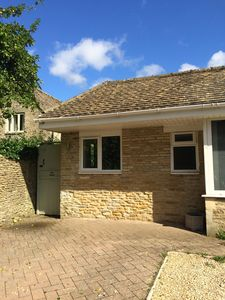 Photo for Recently converted self-contained apartment with garden in Cotswold village