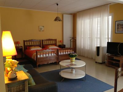 Photo for Furnished 2/3 pers. Le Pavillon Saint-Pierre city center, on the ground floor, quiet