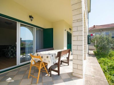 Photo for Three bedroom apartment with terrace Trogir