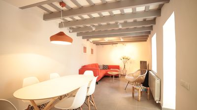 Photo for Stylishly Reformed Historic Town House in the heart of Sitges and by the SEA.