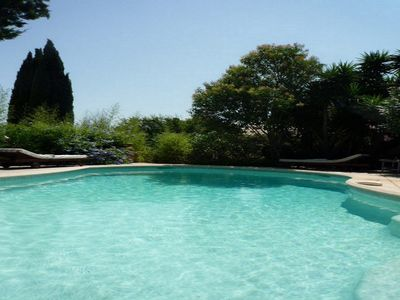 Photo for RARE! SANARY CENTER FAMILY VILLA SWIMMING POOL, PRIVATE GARDEN AND PARKING