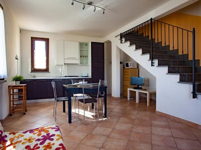 Photo for Corregiolo 11 apartment in Livorno with WiFi, integrated air conditioning, private parking & privat…