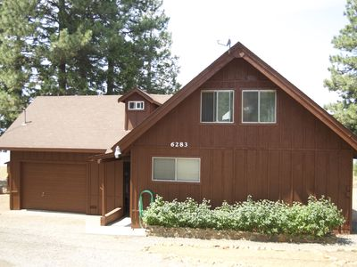 Photo for Lakefront Home W/Outstanding Views Of Mt. Lassen, Dock, Buoys & Fishing