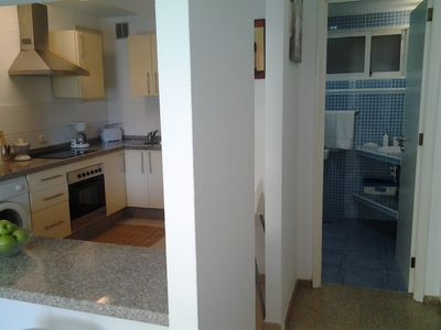 Photo for OFFER!!! BEAUTIFUL APARTMENT ON THE BEACH OF TWO ROOMS