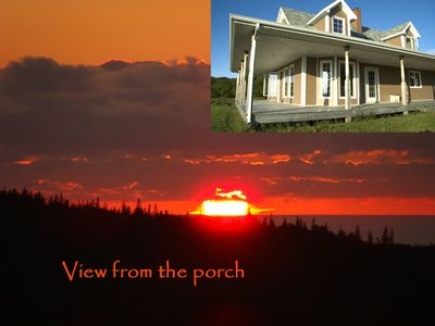 Photo for Fantastic house on Sunset Coast of Cape Breton ideally located on island