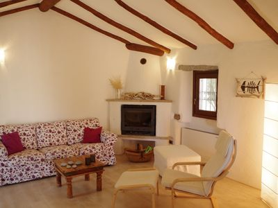 Photo for Villa with huge garden (no neigbors) at 20 minutes from beaches and rocky bays
