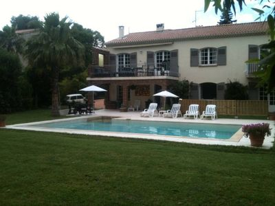 Photo for SAINT RAPHAEL VILLA WITH PRIVATE POOL