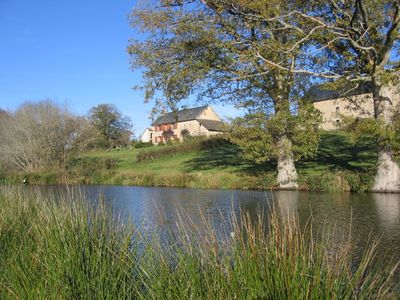 Photo for Gite de France 3 ears, isolated in the countryside on the edge of a pond,