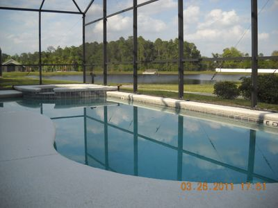 Photo for Lake view 7  bedrooms 5.5 baths 4 king size bed suite