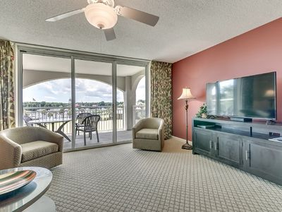 Photo for Yacht Club Villas 1-303, 3  Bedroom Waterfront Condo, Hot Tub and Free Wi-Fi!