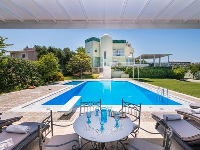 Photo for Stunning villa for private Escape/ Create priceless memories! large private pool