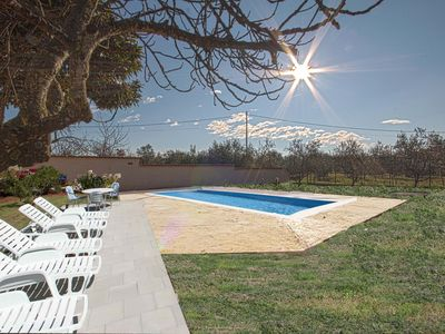 Photo for Holiday house with pool in nature