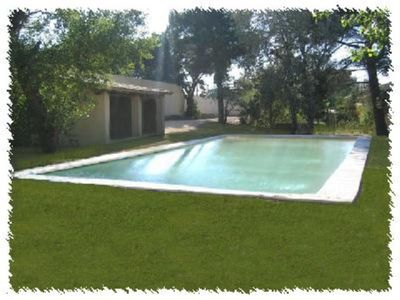 Photo for country holiday home - Rochefort du gard