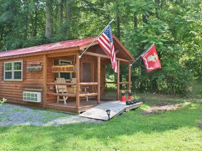 Photo for 1BR Cabin Vacation Rental in St. George, West Virginia
