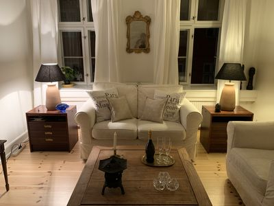 Photo for Newly renovated and very charming apartment on the walking street in the heart of Copenhagen