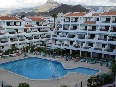 Photo for Apartment In Victoria Court 2, Los Cristianos, Tenerife, Canary Islands