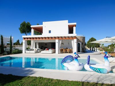 Photo for Directly from owner, a new 8 person villa in the neighborhood of Cala Bassa