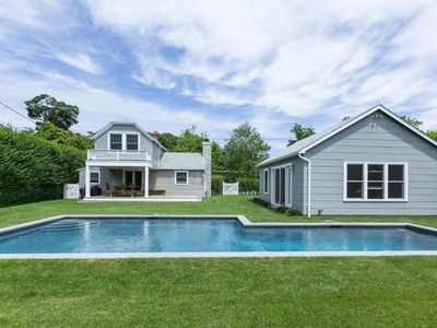 Photo for Southampton Village - Peaceful, Private, Perfect Summer Getaway with Heated Pool