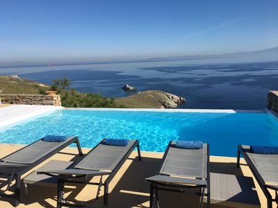 Photo for Luxury Villa Private Infinity Pool, Breathtaking Views, Calm