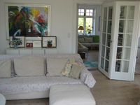 A really lovely family home, near the metro and the beach. Very quick on the metro into the centre.