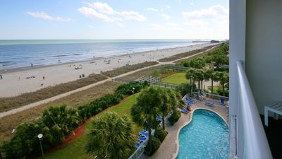 Photo for Book Spring Summer! Direct oceanfront 2 bd2bafamily resort. Heated poollazyriver