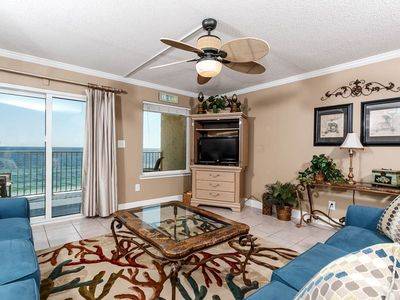 Photo for Large, open unit, Gulf front views, Close to shopping and dining