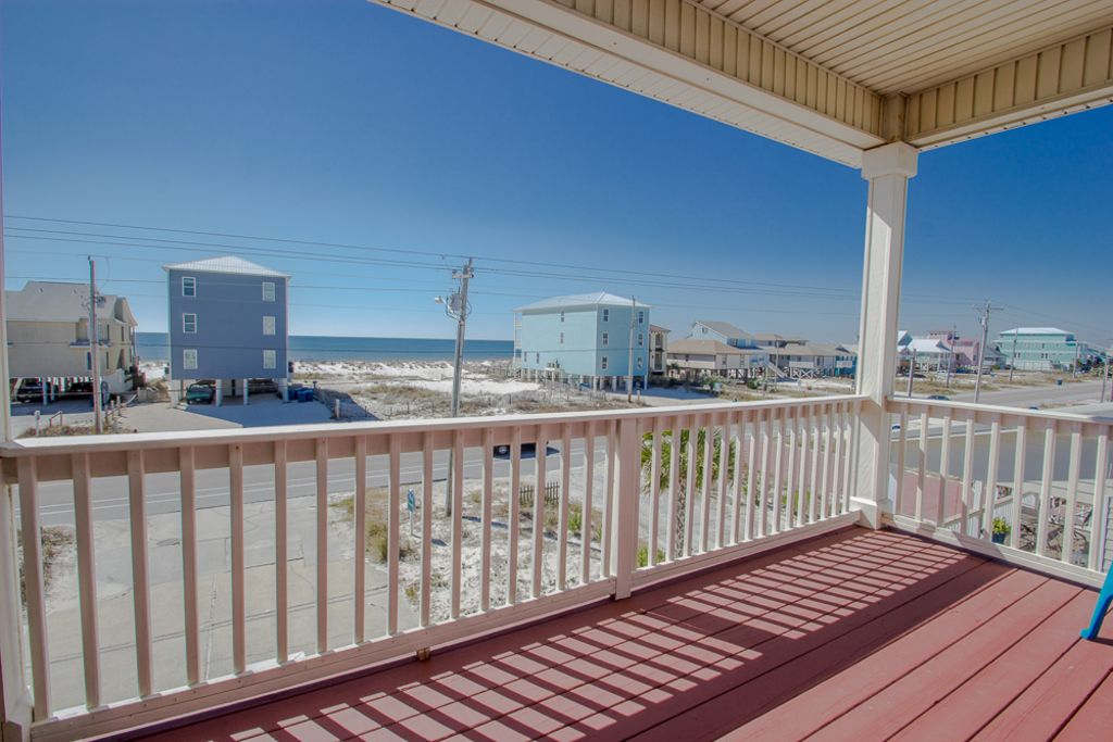 3 3 gulf view beach home pet friendly gulf shores for Beach house plans gulf coast
