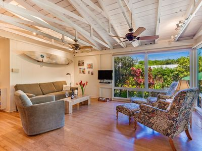 Photo for Adorable Beach House!  Walk to beach! Air conditioning in master bedroom