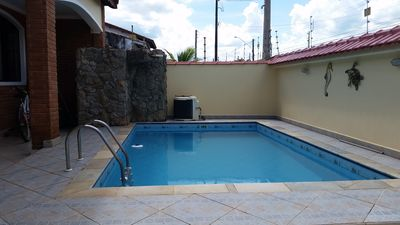 Photo for House with pool 100 meters from the beach
