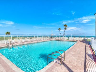Photo for UPDATED OCEAN VIEW CONDO JUST STEPS AWAY FROM THE BEACH