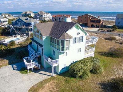 Photo for #OH9: Reduced Rates! Partial OCEANVIEW Home in Corolla w/PRVTPool & HotTub, DogFriendly