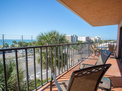 Photo for Spacious Corner Unit Condo With A Fantastic View. Great Value.  Great Location in Madeira Beach.