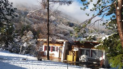 Photo for Briançon-Serre Chevalier 1200 - Bright chalet of 60 m2 - up to 11 beds
