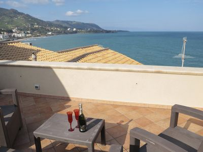 Photo for 1BR Apartment Vacation Rental in Cefalù, Sicilia