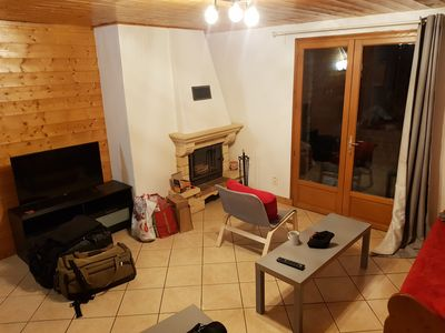 Photo for Beautiful apartment in chalet Arcs 1800