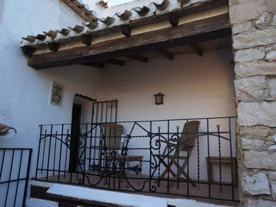 Photo for Located in the heart of Lliber, Rustic Cottage with secure storage for Bikes.