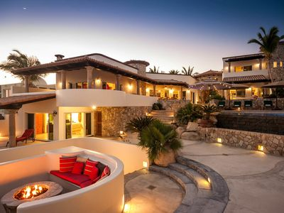 Photo for Luxury 4 BR Beachfront Castillo Escondido w/ WiFi, Pool, Home Gym + Much More!