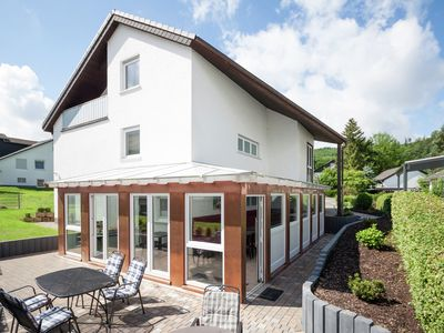 Photo for Detached group accommodation in the Sauerland with garden, balcony and common room