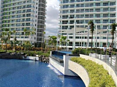 Photo for Azure Beach View Condominium. Perfect for Staycation!