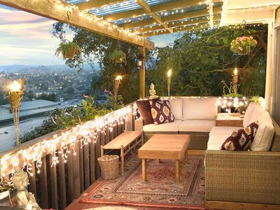 Photo for COZY HILLSIDE GUEST HOUSE - view