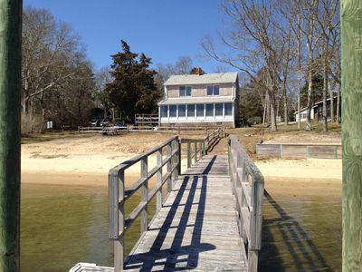 Boat Dock and Association Beach