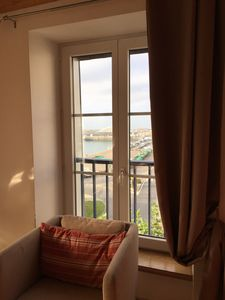 Photo for NEW !! Apartment in the heart of Granville with panoramic views