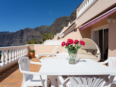 Photo for SUPERB LOCATION - PANORAMIC SEA & CLIFF VIEWS - WIFI - SATELLITE TV- SKY TV