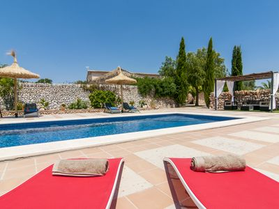 Photo for Petit Encant, large house in the south of Mallorca
