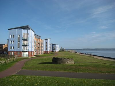 Photo for 5* Self Catering Penthouse, Llanelli, Beach, Sea Views, Walks, Golf, Cycle.
