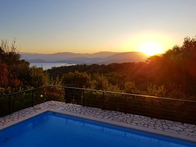 Photo for Villa Chiquitita, Nr Kalami,  Heated Private Pool, Stunning Views, WiFi, A/C
