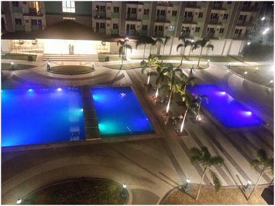 Photo for SM FIELD RESIDENCES, 85m2, FREE POOL, 2 BEDROOMS, 2 BATHROOMS, 24HRS SECURITY