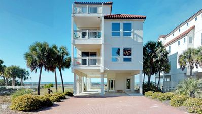 "Photo for Ready To Rent Now! FREE BEACH GEAR! East End Beach View, Elevator, WiFi, 6BR/6.5BA ""My Three Suns"""